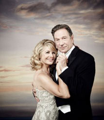 Glynis Barber and Michael Brandon in ITV's Stepping Out